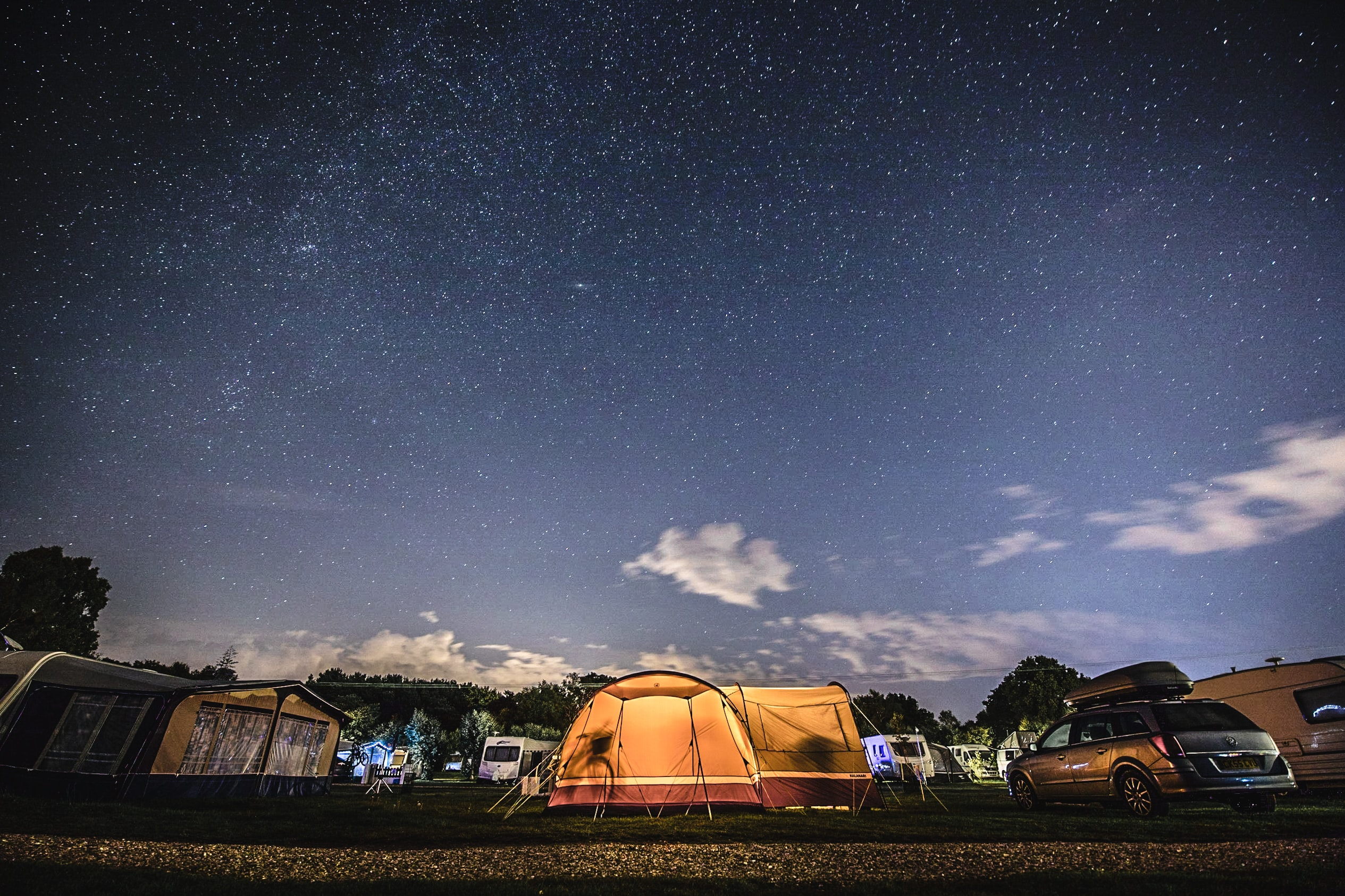 What is the advantage of a roof top tent?