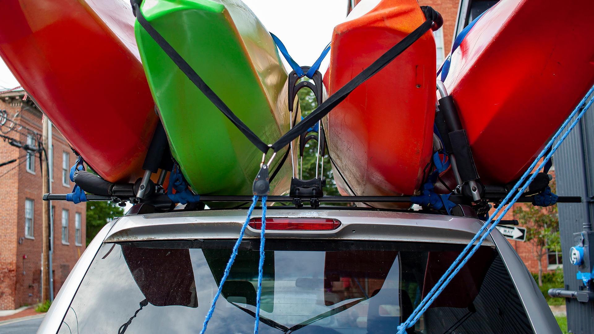 Best Kayak Rack for Van 40